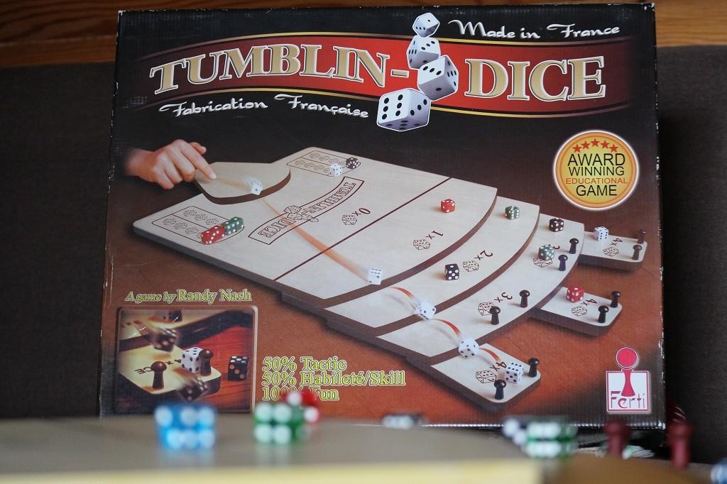 Tumblin' Dice -pelilaatikko