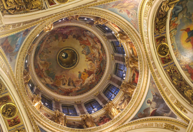 Iisakin kirkon katto