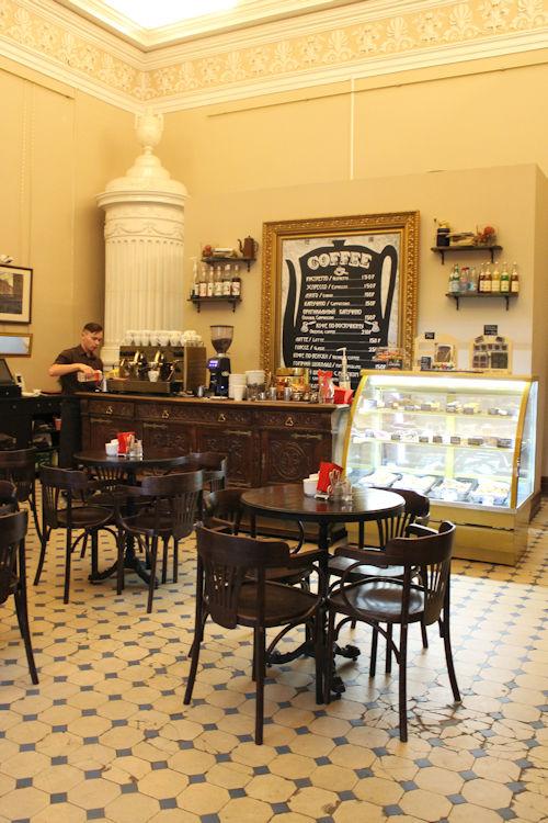 Pietarilainen kahvila