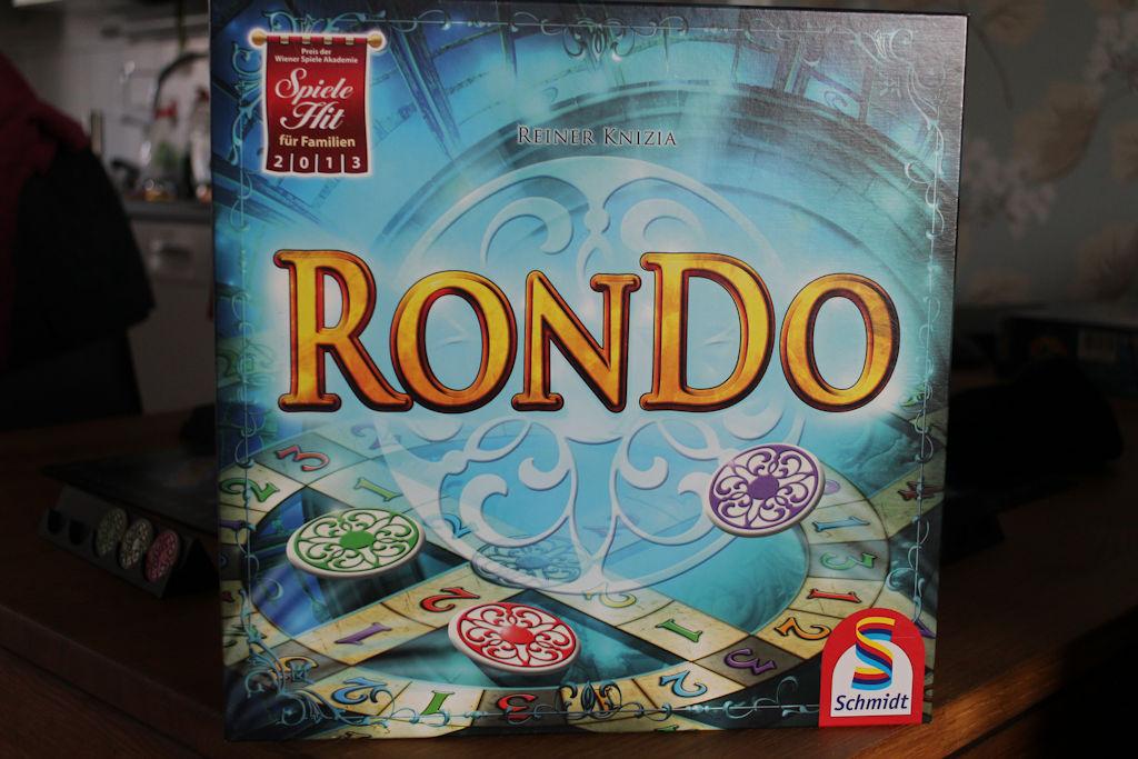 Rondon kansi ei välttämättä ole kaikkein houkuttelevinta sorttia.