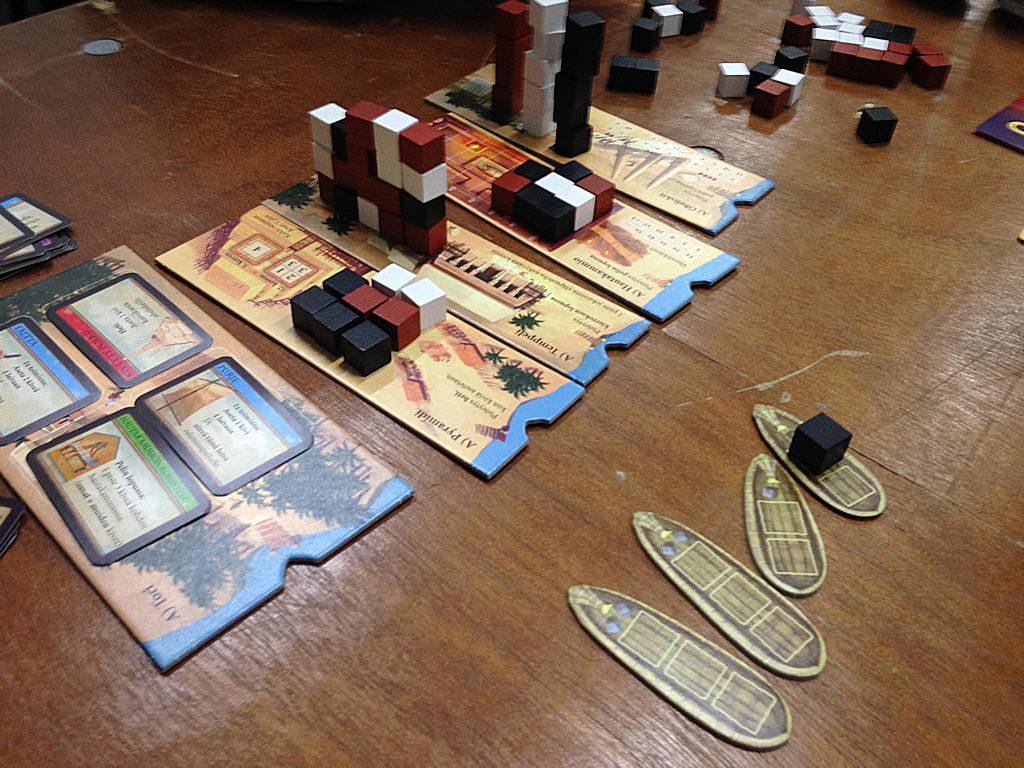 Imhotep ja abstraktien rakennustyömaiden haaste.