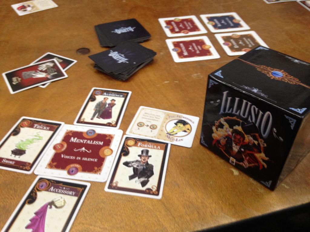 Illusion on kevyt tiketinteko-peli - ei valitettavasti sieltä parhaasta päästä.