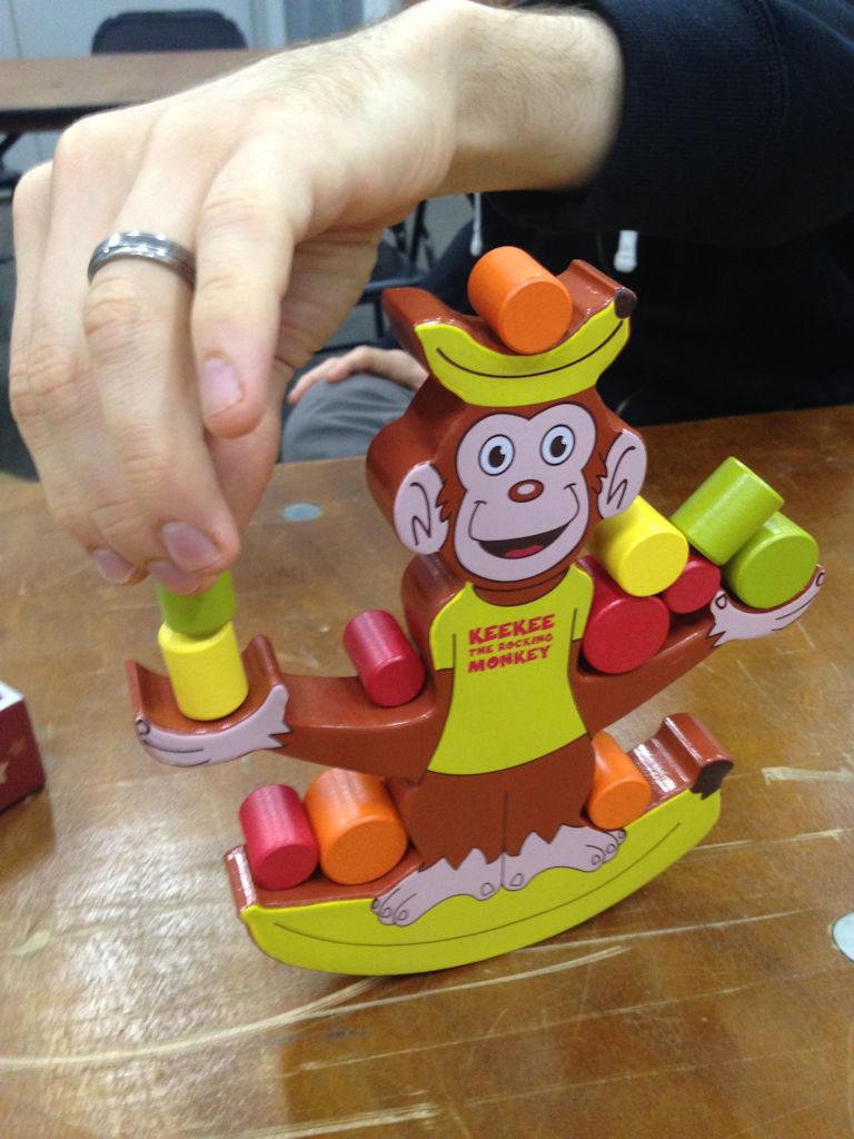 Keekee the Rocking Monkey näyttää paremmalta kuin mitä käytännössä on.