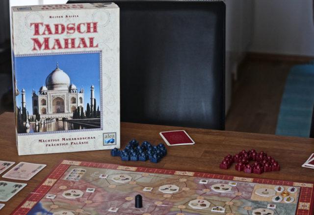 Taj Mahal (tai kuten kuvan hollantilainen painos 'Tadsch Mahal'). Alea-sarjan 3. julkaisu.