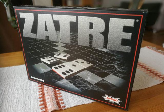 Zatre: numeropeliversio klassisesta Scrabble/Alfapet -sanapelistä.
