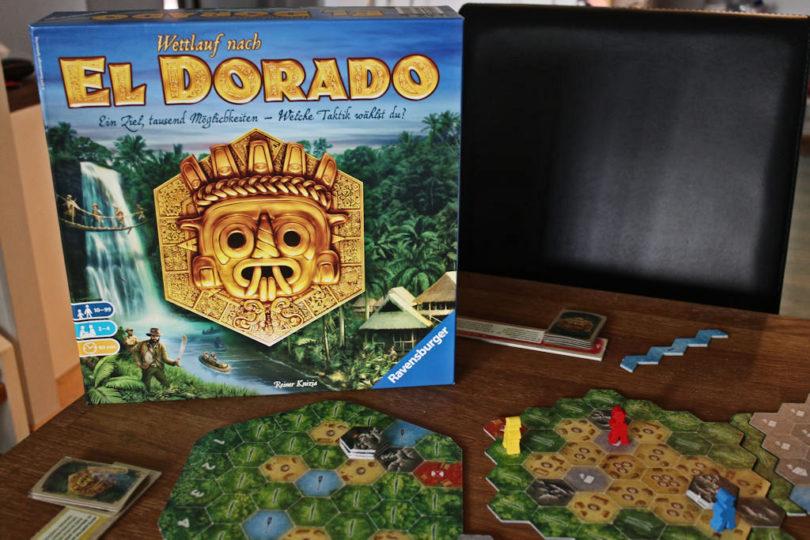 El Dorado - tarunhohtoisen kultaisen kaupungin etsintä on pelin teemana.