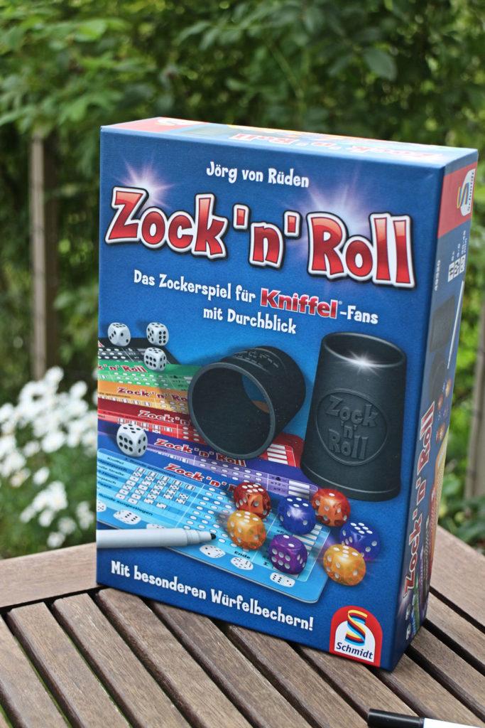 Zock 'n' Roll -kansi kertoo pelistä miltei kaiken.
