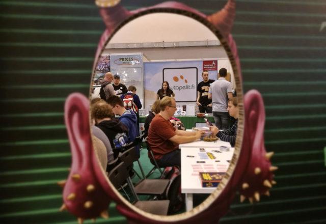 Lautapelit.fi:n pään sisällä - onkos siellä vapaita pöytiä?