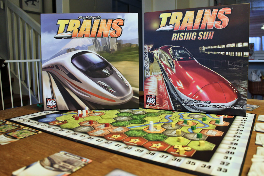 Trains ja Trains: Rising Sun.