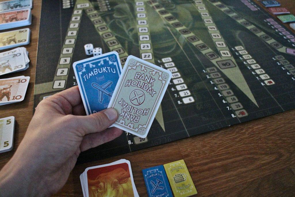 Pelaajan käsikortit.