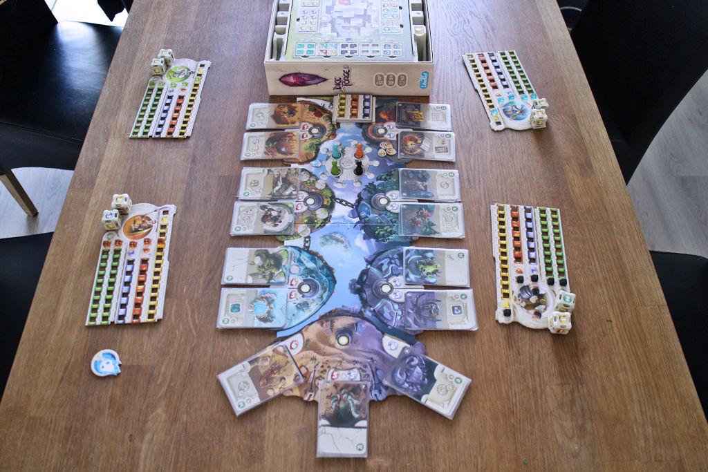 Peli levitettynä pelikuntoon.