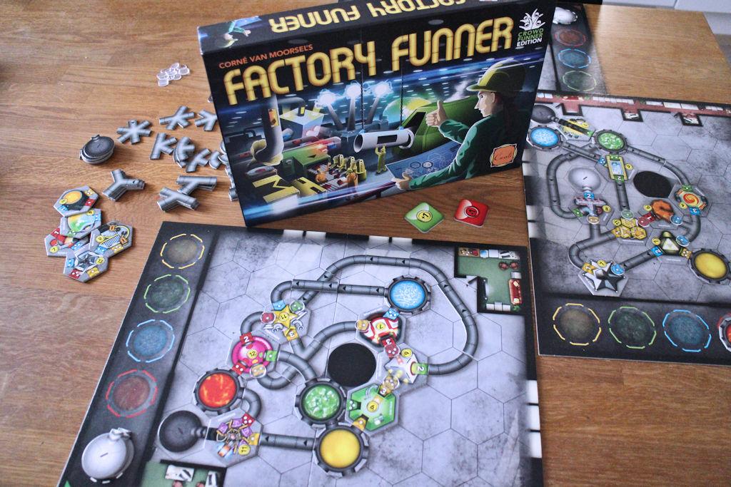 Factory Funner. Aivopähkinä vailla vertaa.